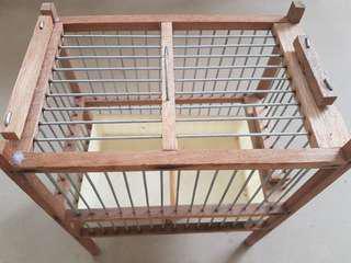 Bath cage