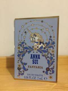 Anna Sui perfume sample 香水版 fantasia