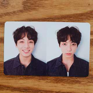 ( LF ) love yourself: tear jungkook's r version official photocard