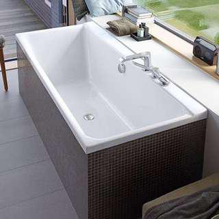 Duravit D code build in bathtub