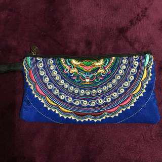 Thai embroidered wallet
