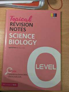 science biology topical revision notes