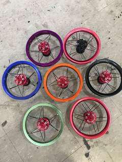 Dyu AM Fiido spooky rims can install rotor