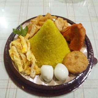 nasi kuning mini