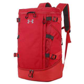 Instock Under Armour Backpack red