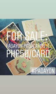 Padayon postcards
