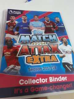 Match Attax 17/18 Extra Need list