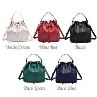 Bucket Sling Tote Shoulder Women Handbag #FreePostage