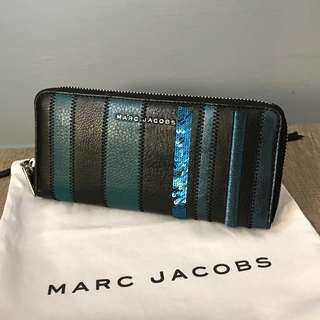 🚚 Mark Jacobs長款錢包MARC JACOBS M0008974 444レディススティールマルチ