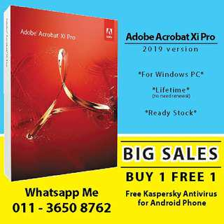 Adobe Acrobat XI Pro latest version