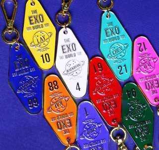 EXO HOTEL KEYRING 鑰匙圈