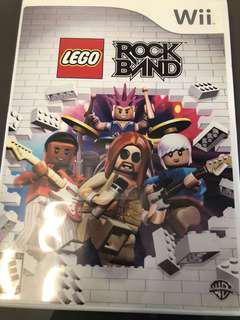 Nintendo Wii game - LEGO Rock Band