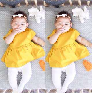 Baby yellow Top