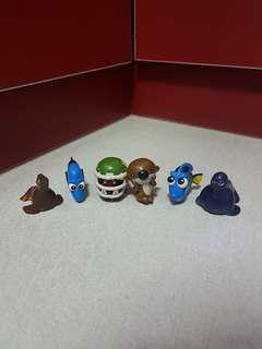 Bandai Finding Nemo figures