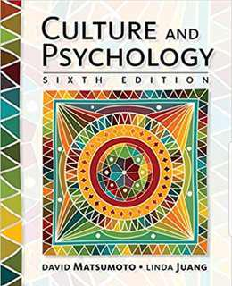 Cultural and Psychology