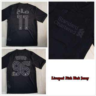 Liverpool pitch black jersey