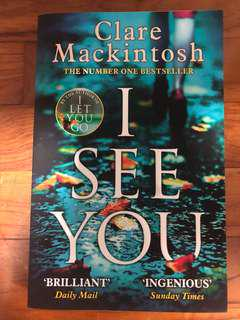 I See You by Claire Mackintosh