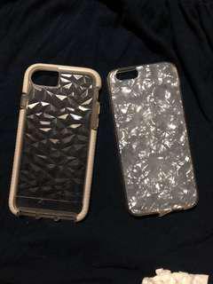Evo gem & capiz case for iphone6