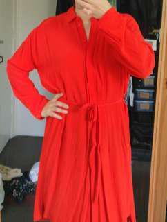 Topshop shirt dress | Size 6 XS