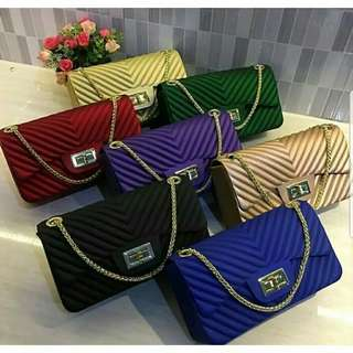tas jelly matte chevron
