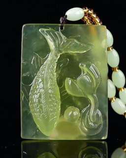 Jade Pendant天然軸玉