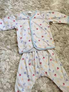 Sesame baby pajamas
