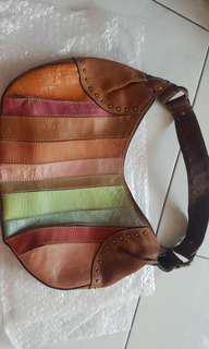 Fossil Coffe Colour Handbag