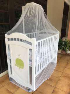 Little Equi 4 Ways Dandelion Tempat Tidur Bayi