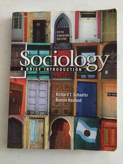 SOC105 - sociology: a brief introduction 5th edition