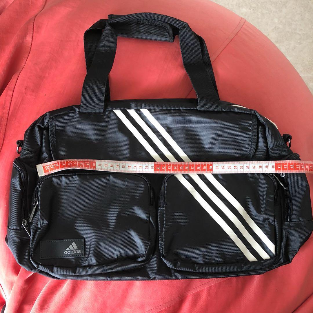 c0969f7a5f60 Authentic BN adidas Black Duffle Gym Bag