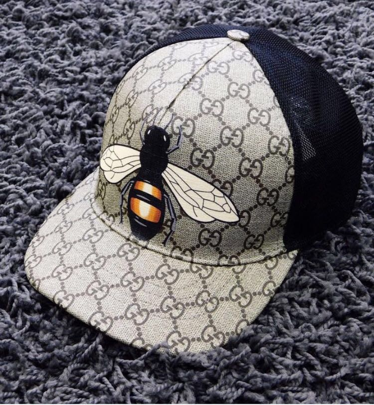 💓💯Authentic GUCCI BEE CAP🛍 cdbede751eb