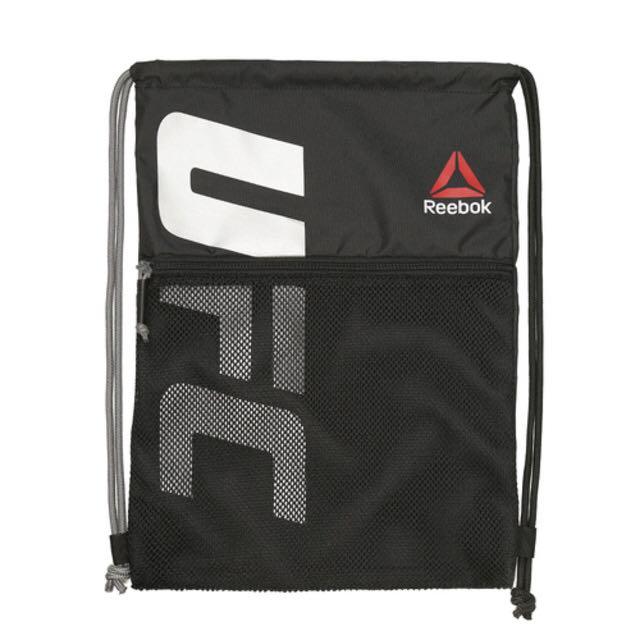 c2eef4e49b Authentic Reebok x UFC Unisex Drawstring Bag (Gym Sack)