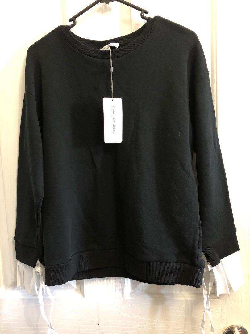 Black jumper top