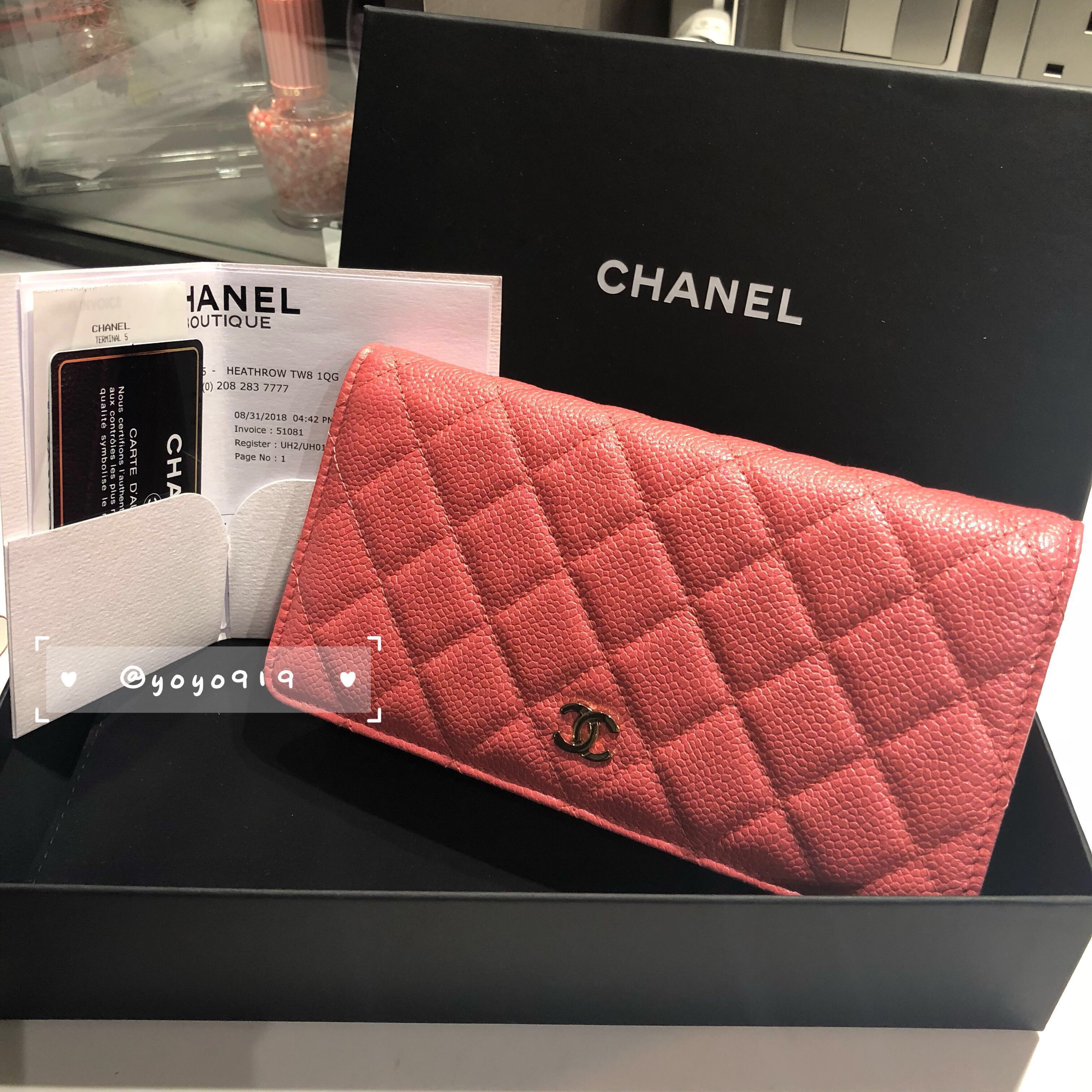 bd5c6ee85b8485 Chanel L-YEN Wallet(NEW! Buy from Aug 31 ), Women's Fashion, Bags & Wallets,  Wallets on Carousell