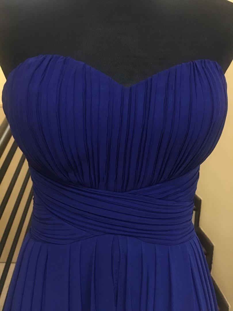 ca7062cfcabf Chiffon evening dress, Women's Fashion, Clothes, Dresses & Skirts on ...