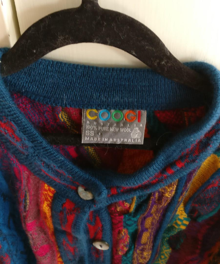 COOGI multi coloured Wool Cardigan | Vintage | Size SS