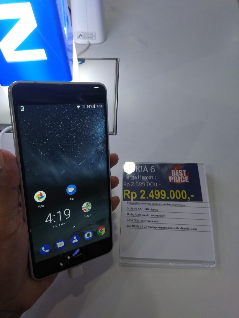 Dijual Nokia 6 cicilan tanpa kartu kredit proses 3 Menit 7ccd128588