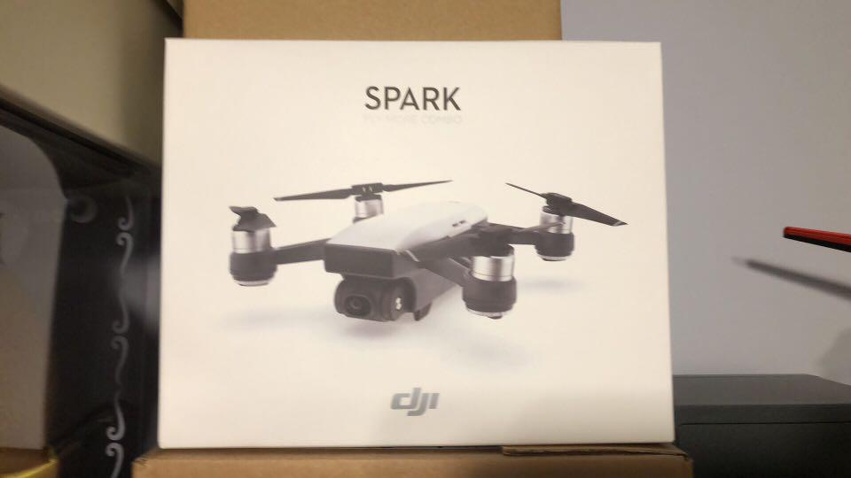 DJI Spark Fly more combo extra battery and DJI Care Refresh