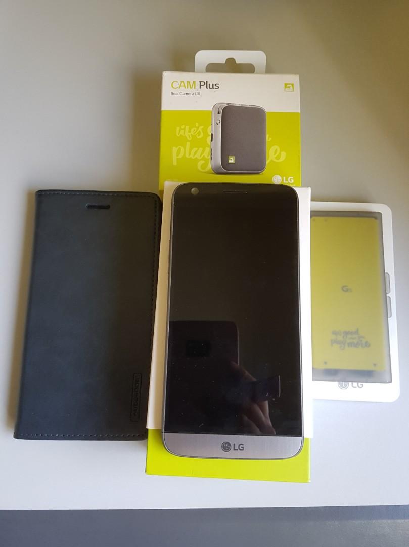 timeless design e027a 0cb63 LG G5 SE 32GB + Extra Batt + Cover + Cam Plus Real Camera UX