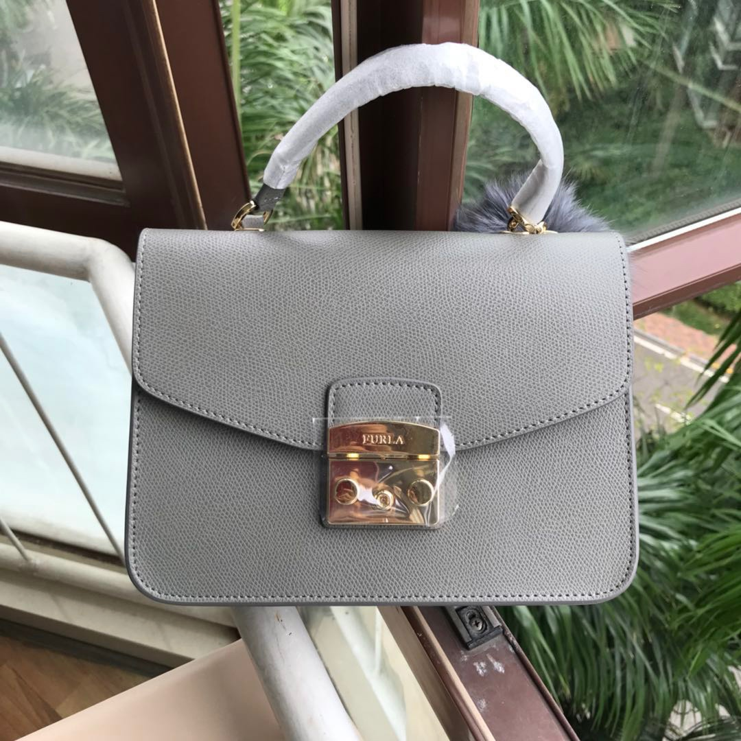 7709e558c3246 Furla Small Metropolis Top Handle Bag