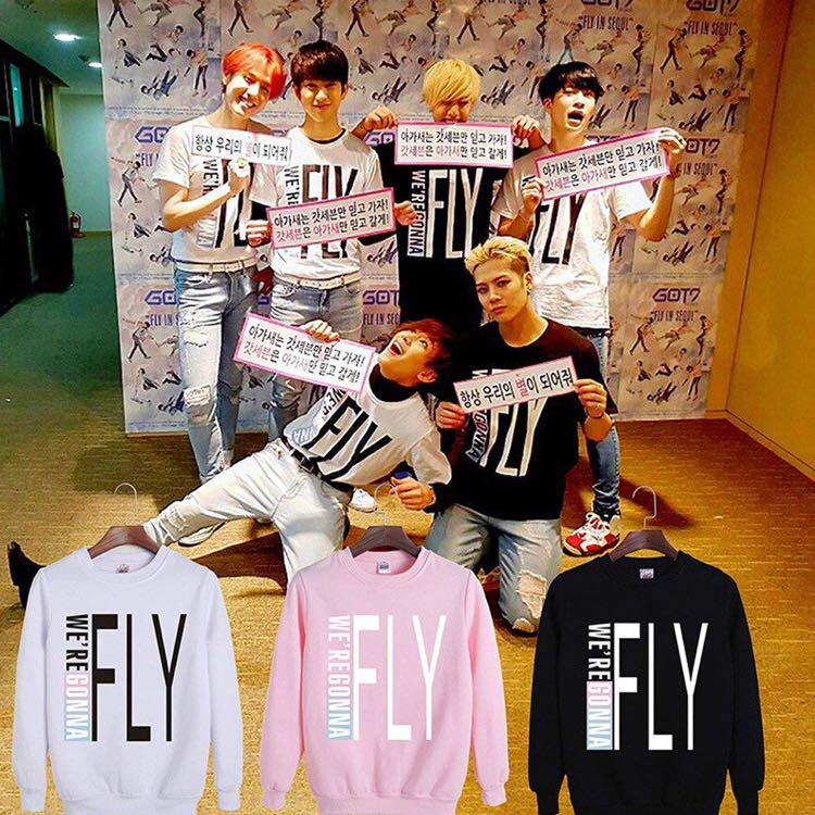 Got7 fly in Seoul concert sweater