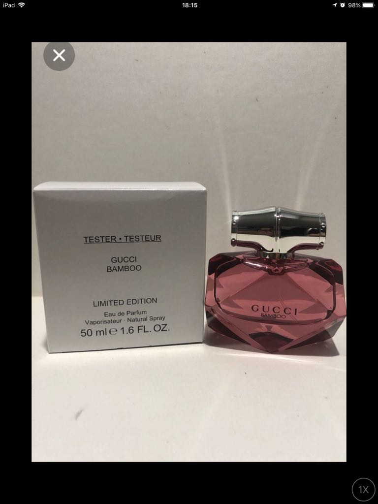Gucci Bamboo Limited Edition Edp 50ml Tester Health Beauty 75ml Women Perfumes Deodorants On Carousell