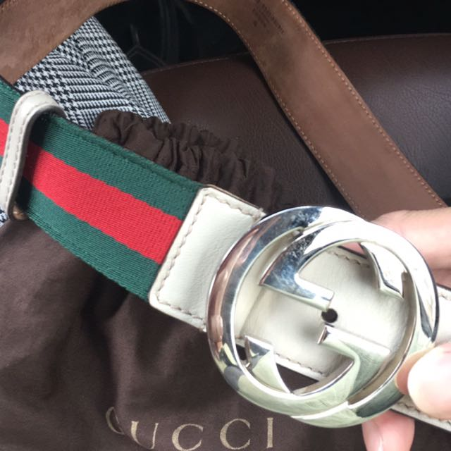 04578216526 Gucci Belt with Dust Bag
