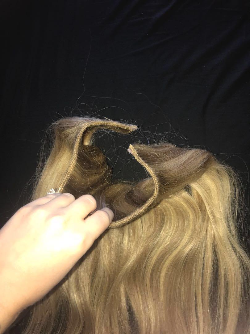 HALO REAL RUSSIAN HAIR HIDDEN CROWN