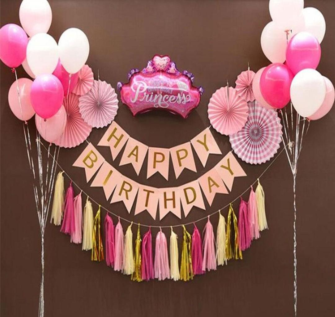 Happy Birthday Decor Babies Kids Girls Apparel 1 To 3 Years On