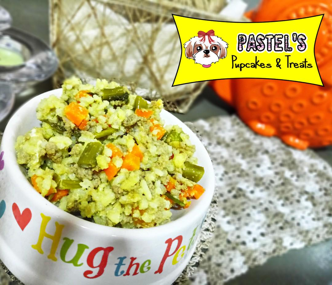 Healthy Homemade DOG FOOD by Pastel's