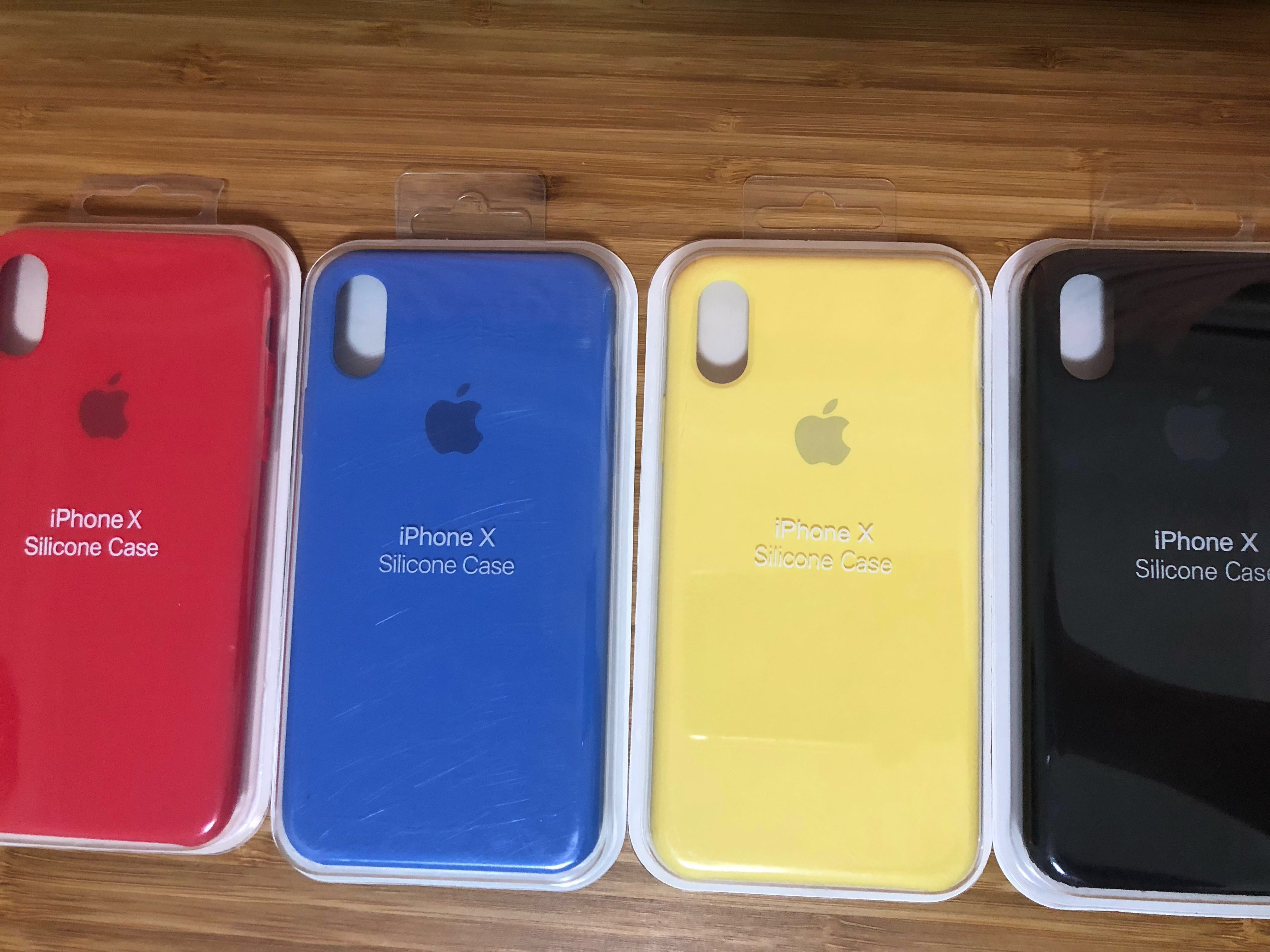 quality design d3662 ea7d7 Apple iPhone X Silicone Case
