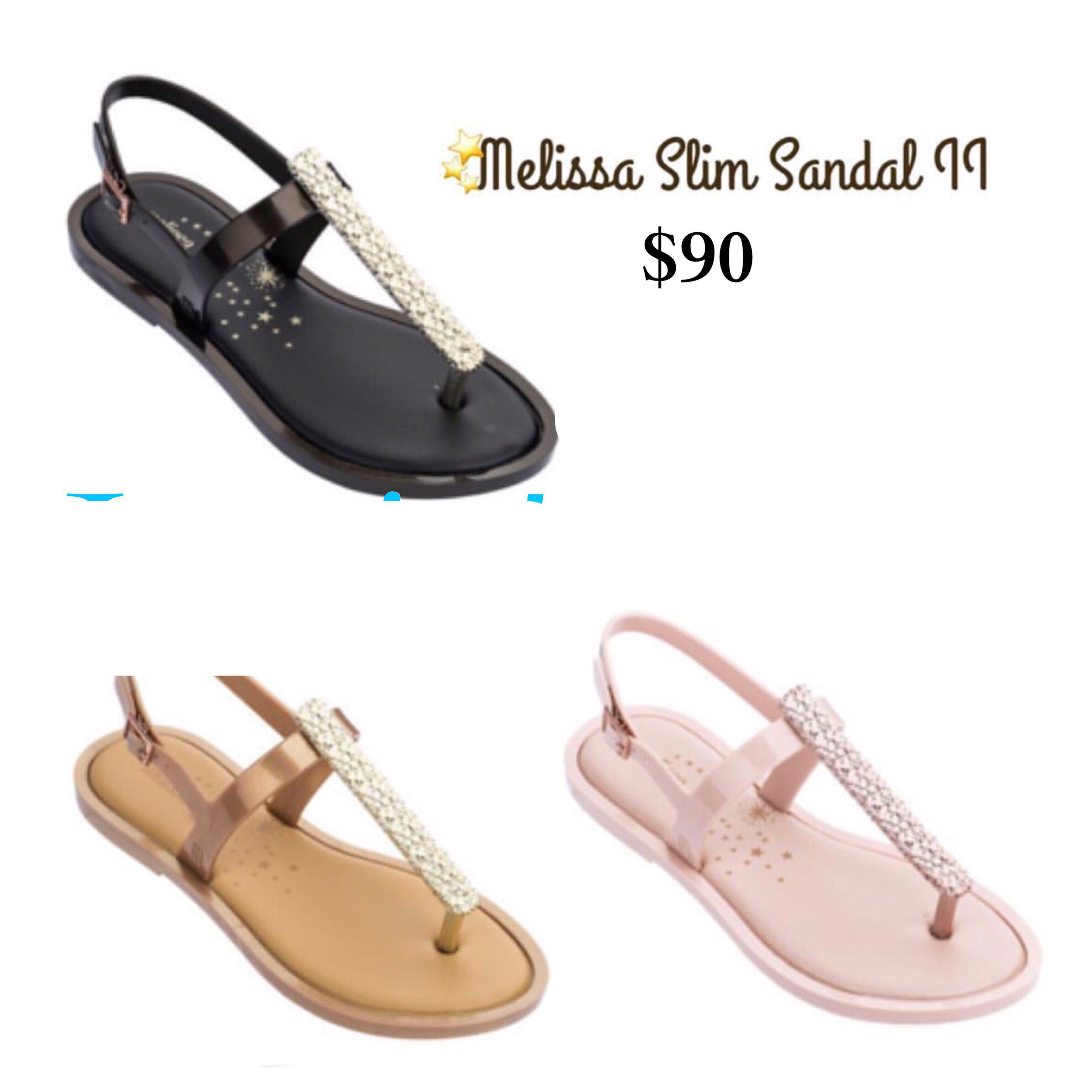2af5a0b40d4d JUST IN! Melissa Slim Sandal II