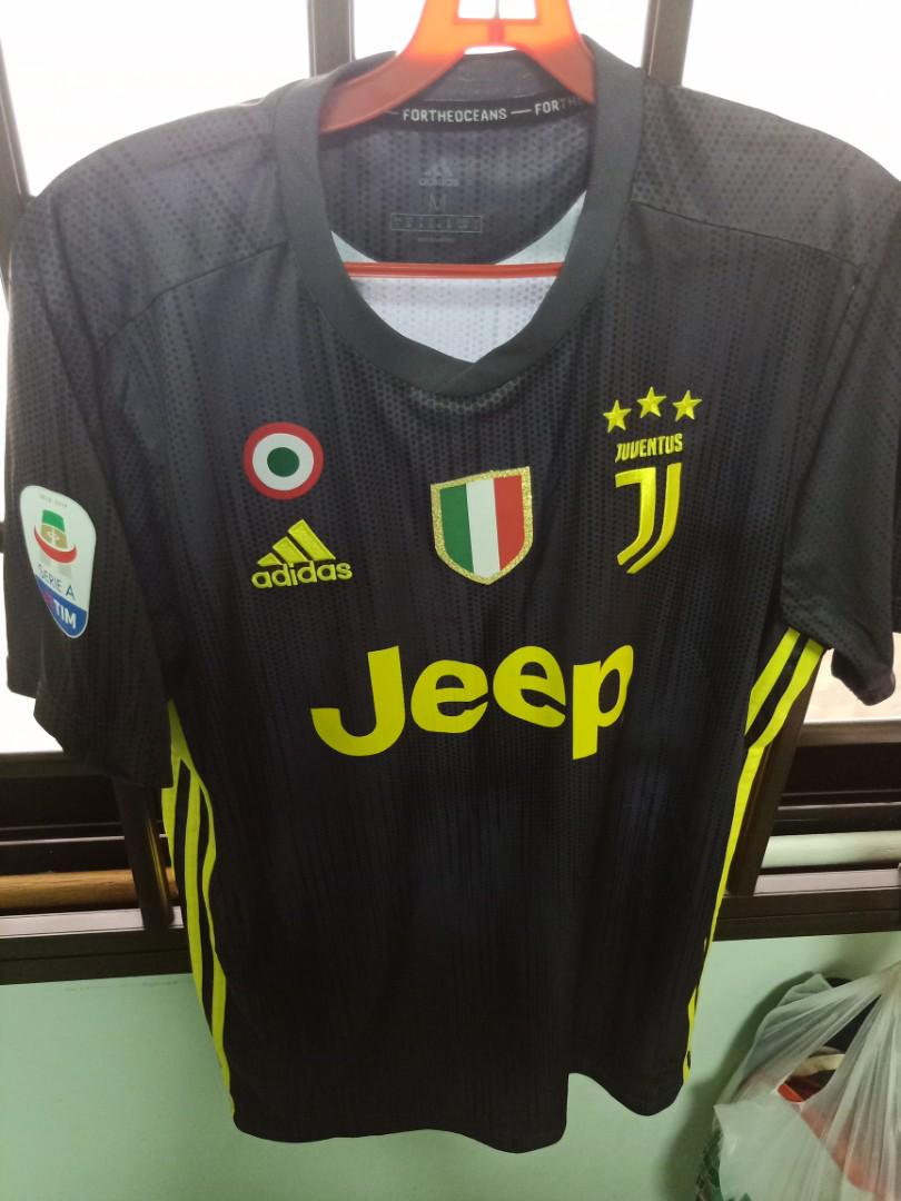 pretty nice ac846 d62f0 AUTHENTIC Juventus 2018/19 3rd kit, Sports, Sports Apparel ...