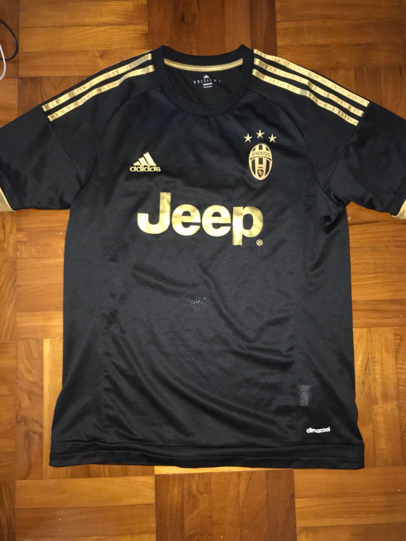 wholesale dealer 7d3ff 797ca Juventus adidas Black 3rd Away Jersey 2015/ 2016, Sports ...